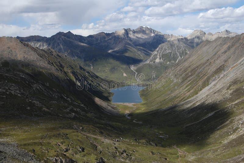 Λίμνες στο Θιβέτ στοκ φωτογραφία με δικαίωμα ελεύθερης χρήσης