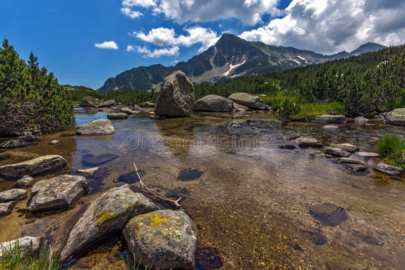 Λίμνες Banski, βουνό Pirin στοκ εικόνες
