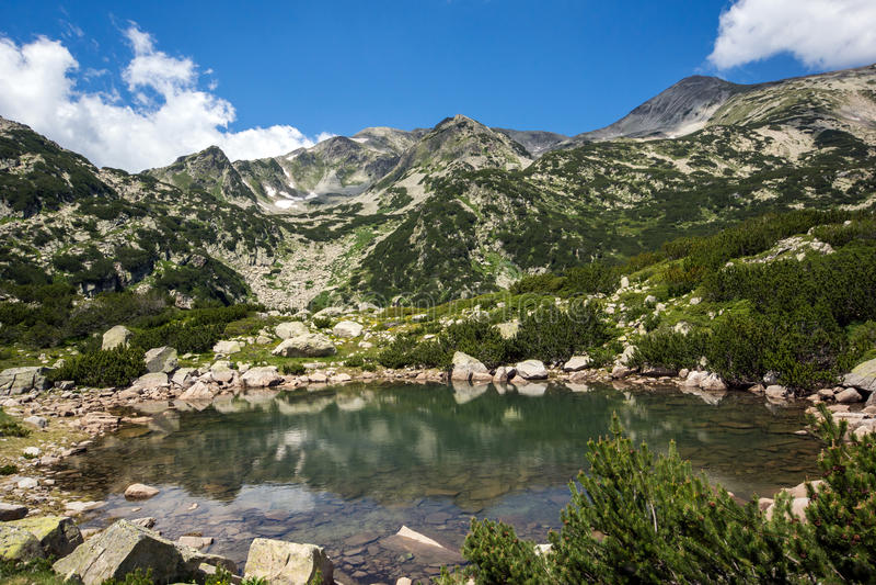 Λίμνες Banski, βουνό Pirin στοκ φωτογραφίες με δικαίωμα ελεύθερης χρήσης