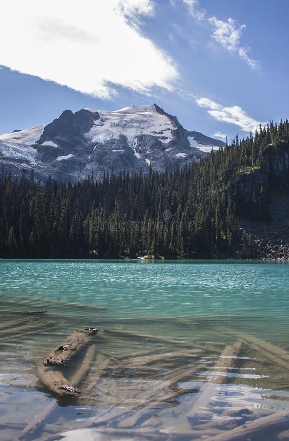 Λίμνες Joffre σε Pemberton στοκ εικόνες