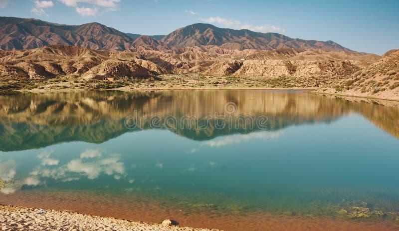 Λίμνες Karakol στοκ εικόνα