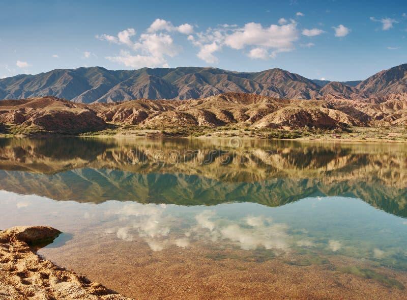 Λίμνες Karakol στοκ φωτογραφίες