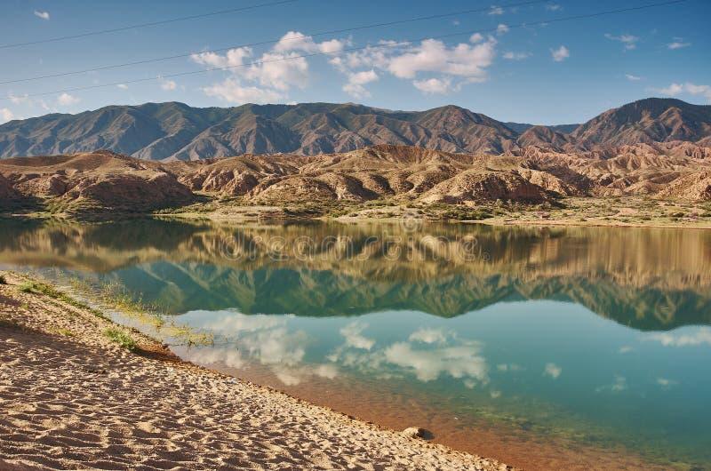 Λίμνες Karakol στοκ εικόνα με δικαίωμα ελεύθερης χρήσης