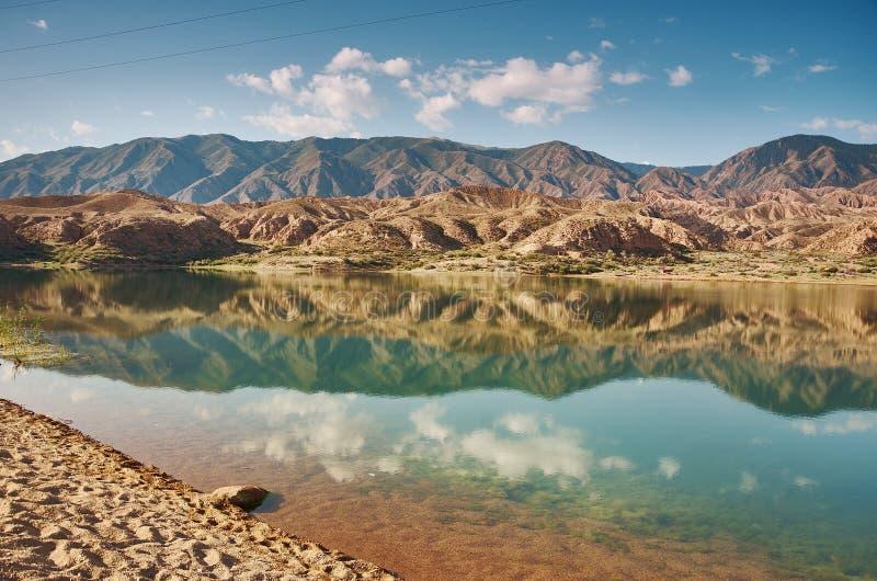 Λίμνες Karakol στοκ φωτογραφίες με δικαίωμα ελεύθερης χρήσης