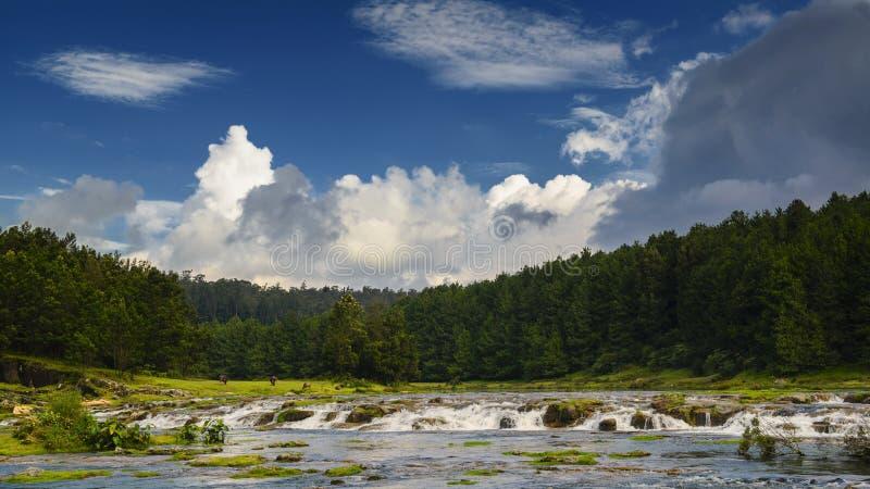 Λίμνη ή ποταμός Pykara σε Ooty στοκ εικόνες