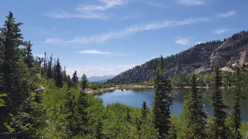 Λίμνη βουνών της Γιούτα στοκ εικόνες με δικαίωμα ελεύθερης χρήσης