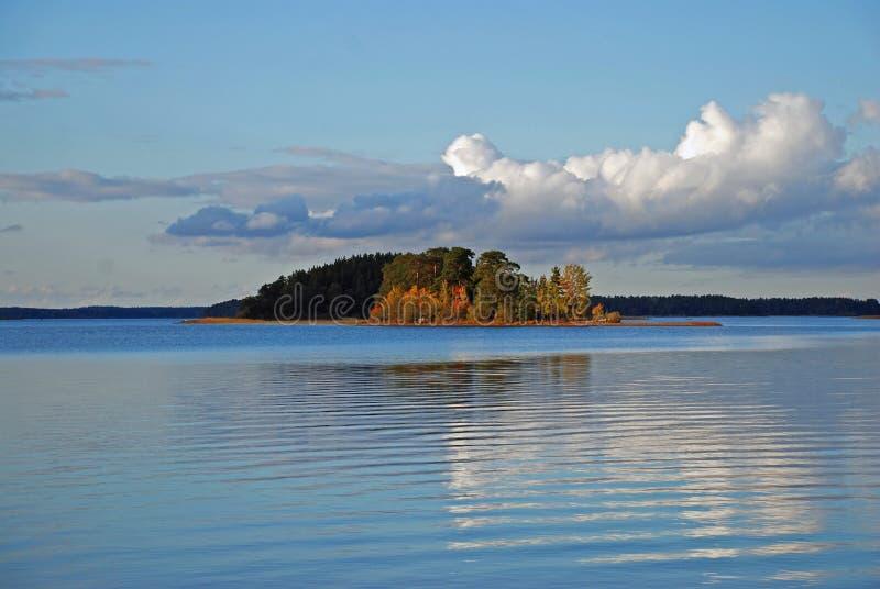 λίμνη γαλήνια Σουηδία στοκ φωτογραφίες με δικαίωμα ελεύθερης χρήσης