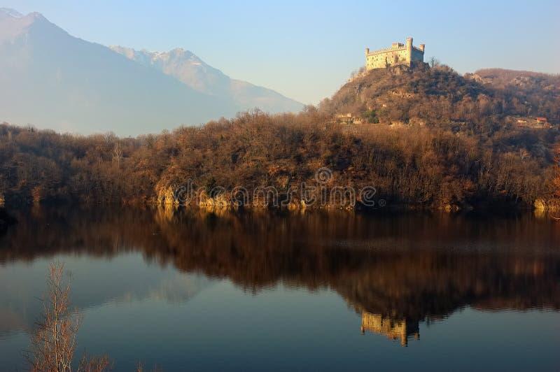 λίμνη κάστρων στοκ εικόνες με δικαίωμα ελεύθερης χρήσης