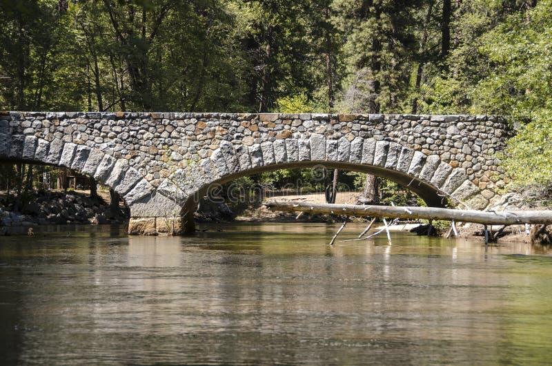 Λίμνη και ποταμός στο εθνικό πάρκο Yosemite στοκ φωτογραφία με δικαίωμα ελεύθερης χρήσης