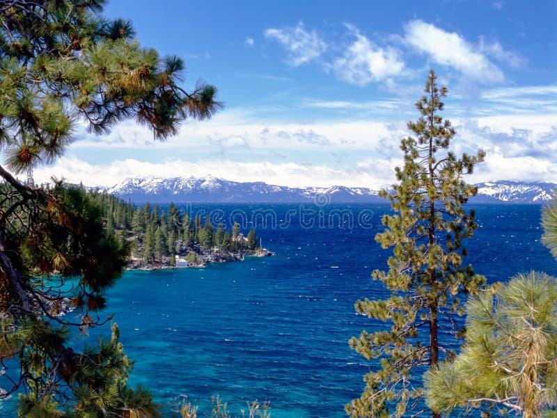 λίμνη Καλιφόρνιας tahoe στοκ εικόνες