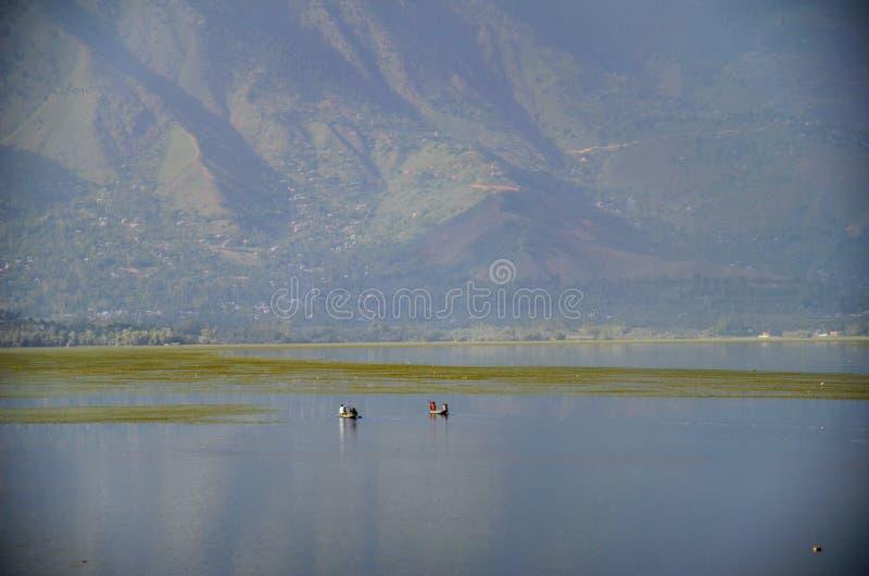 Λίμνη Κασμίρ Wular στοκ φωτογραφία με δικαίωμα ελεύθερης χρήσης