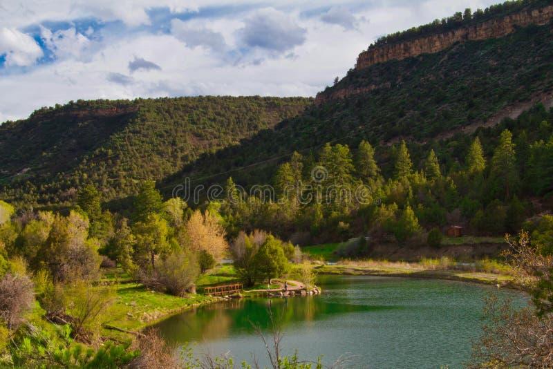 Λίμνη κρατικών πάρκων Ridgway στοκ εικόνα με δικαίωμα ελεύθερης χρήσης