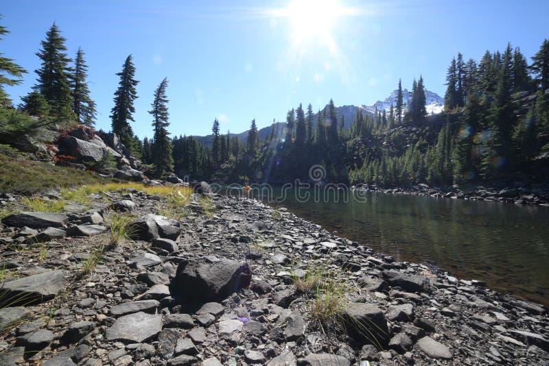 Λίμνη κόλπων στο πάρκο αγριοτήτων του Jefferson στοκ φωτογραφία με δικαίωμα ελεύθερης χρήσης
