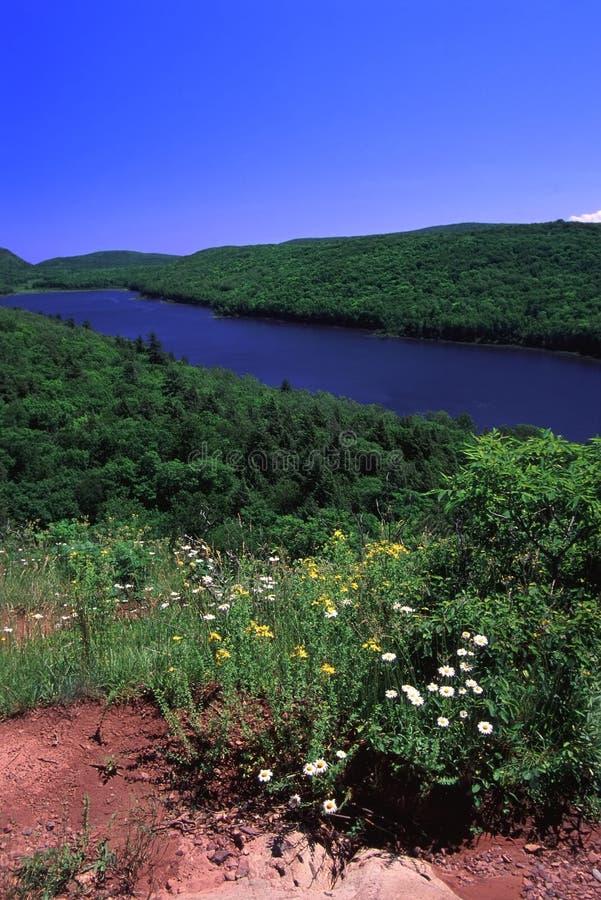 λίμνη Μίτσιγκαν σύννεφων στοκ εικόνα με δικαίωμα ελεύθερης χρήσης