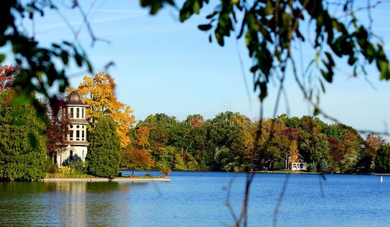 λίμνη Μίτσιγκαν στοκ εικόνες