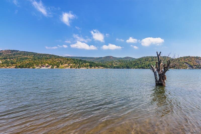 Λίμνη Μπορ στην ανατολική Σερβία στοκ φωτογραφία