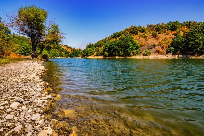 Λίμνη Μπορ στην ανατολική Σερβία στοκ εικόνες
