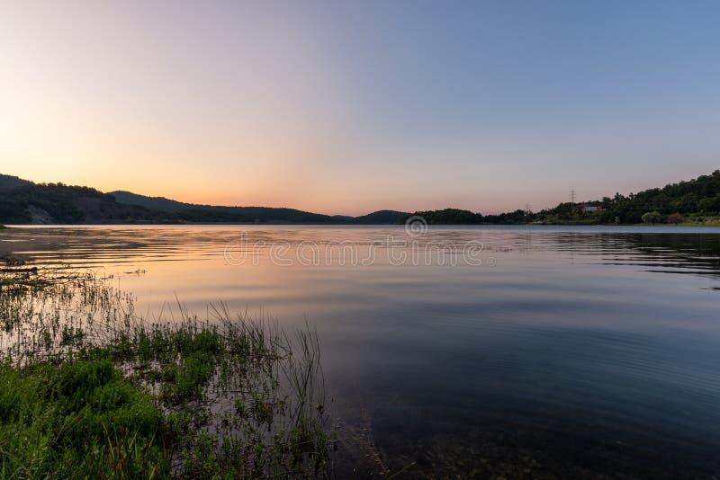 Λίμνη Μπορ στην ανατολική Σερβία στοκ εικόνα