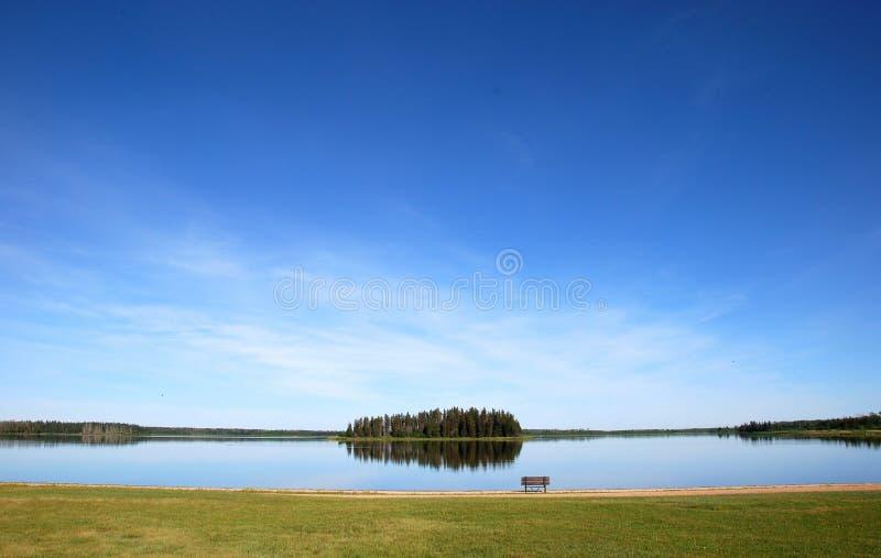 λίμνη νησιών στοκ φωτογραφίες