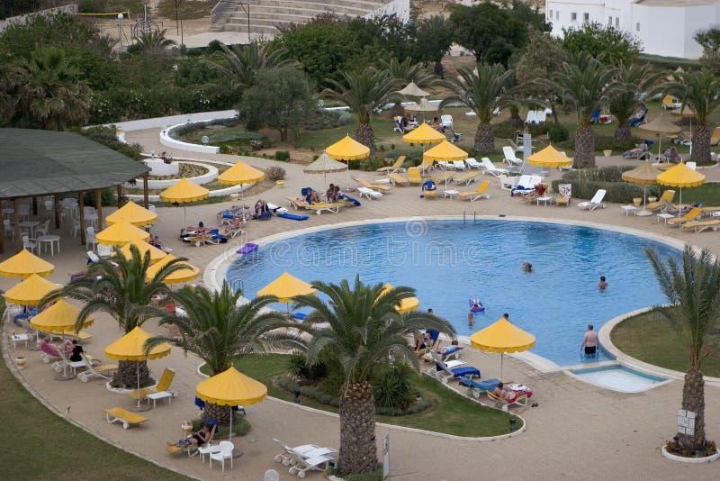 λίμνη ξενοδοχείων στοκ εικόνες