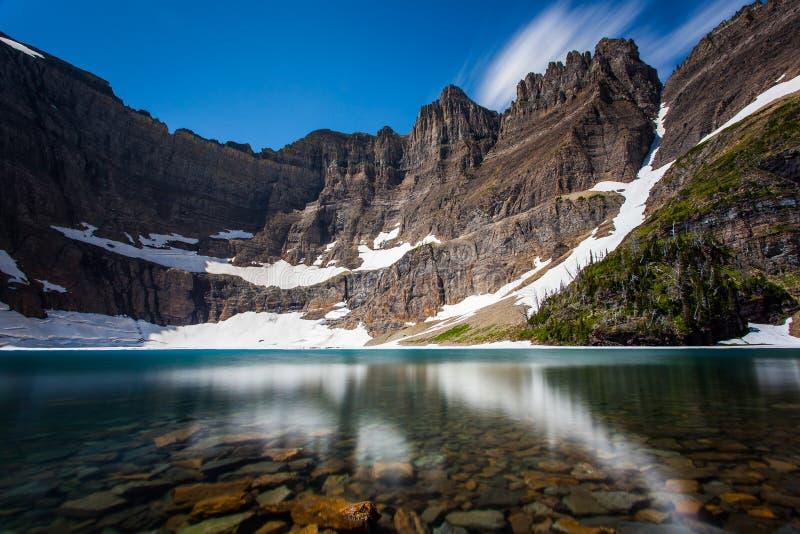 Λίμνη παγόβουνων στοκ εικόνα