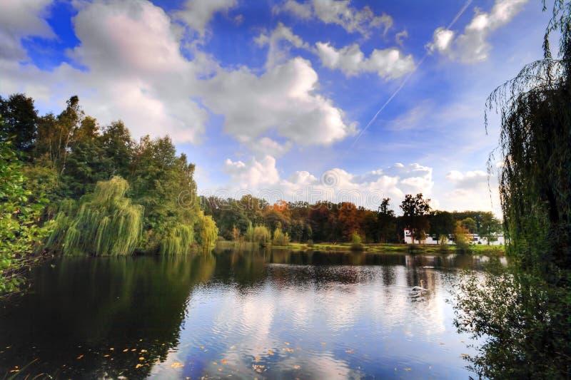 λίμνη περιοχής στοκ εικόνα με δικαίωμα ελεύθερης χρήσης