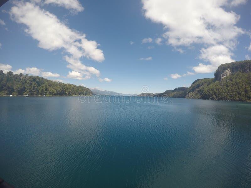 Λίμνη στην Αργεντινή στοκ φωτογραφία