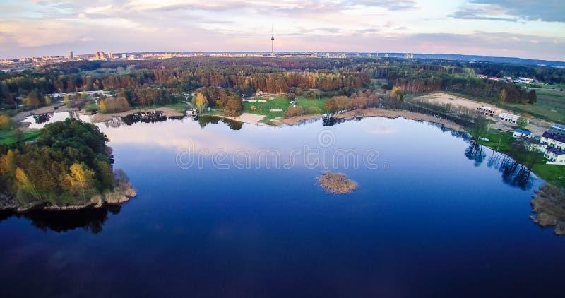 Λίμνη στη Λιθουανία στοκ εικόνες με δικαίωμα ελεύθερης χρήσης