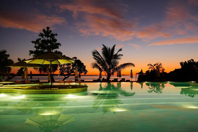 Λίμνη στις Μαλδίβες στοκ εικόνες με δικαίωμα ελεύθερης χρήσης