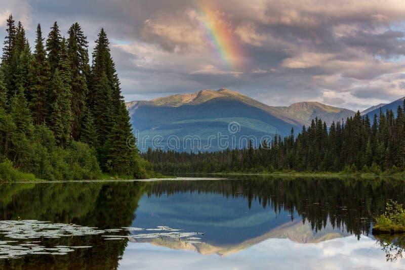 Λίμνη στον Καναδά στοκ φωτογραφία