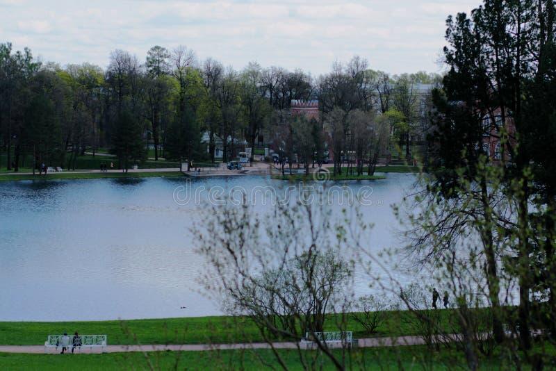 Λίμνη στο πάρκο στοκ φωτογραφία με δικαίωμα ελεύθερης χρήσης