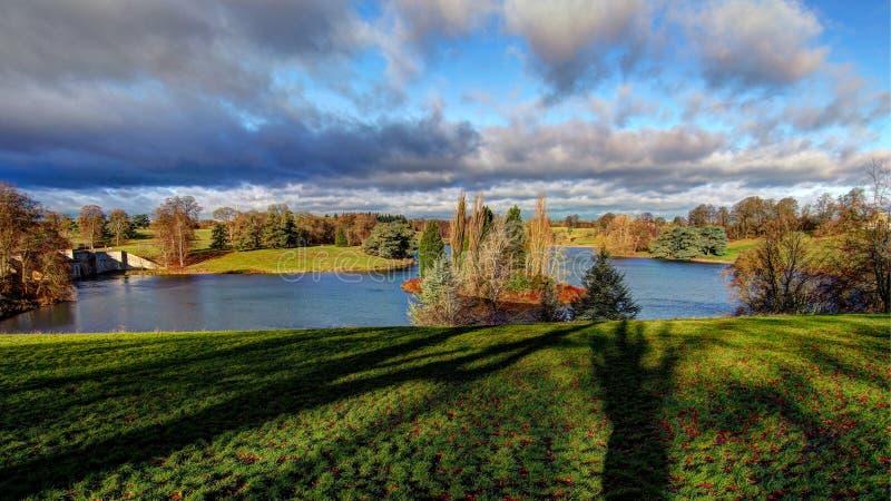 Λίμνη στο blenheim-παλάτι στοκ φωτογραφία με δικαίωμα ελεύθερης χρήσης