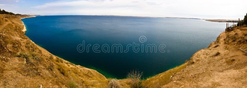 λίμνη Συρία του Assad στοκ φωτογραφία