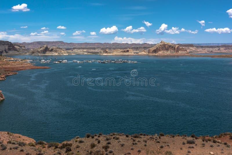 λίμνη της Αριζόνα powell στοκ εικόνα