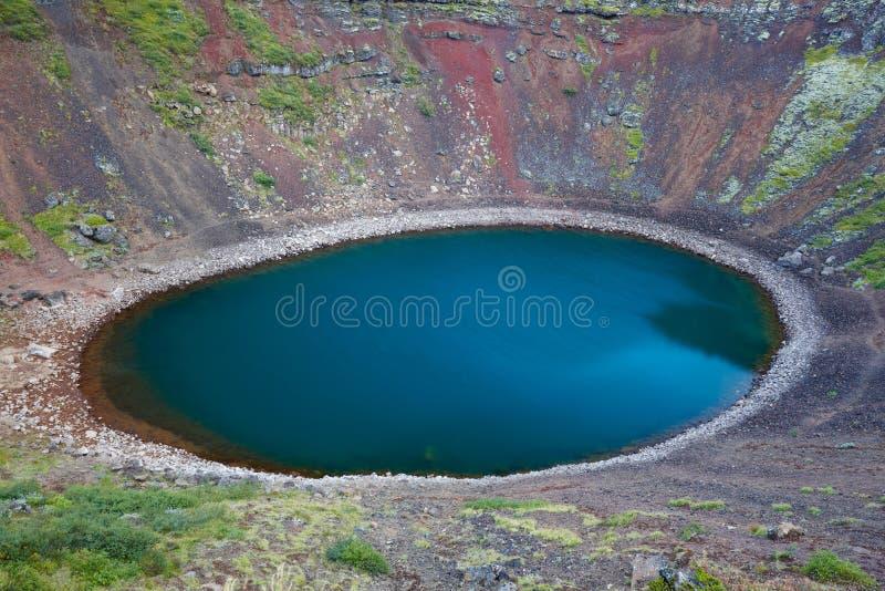 Download λίμνη της Ισλανδίας κρατήρ&o Στοκ Εικόνες - εικόνα από λίμνη, μοναξιά: 13183464