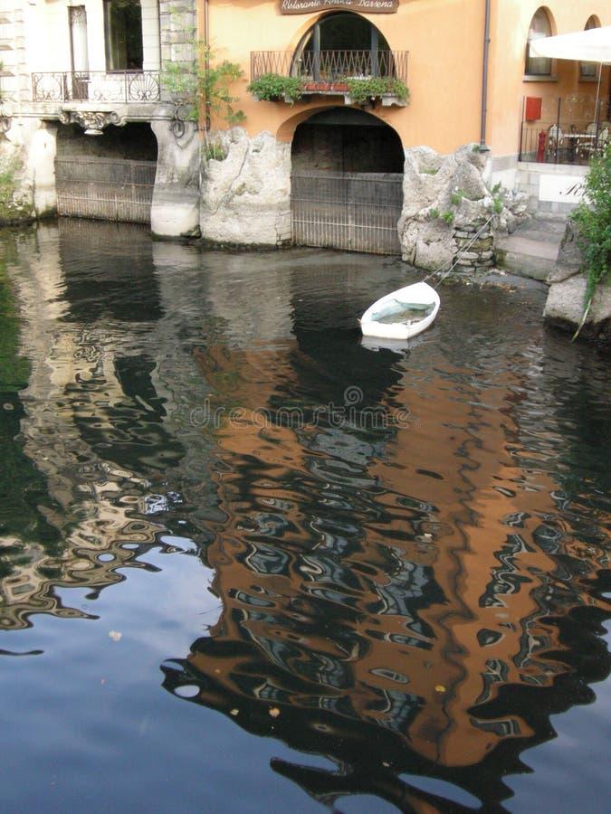 λίμνη της Ιταλίας como ρομαντι στοκ εικόνες