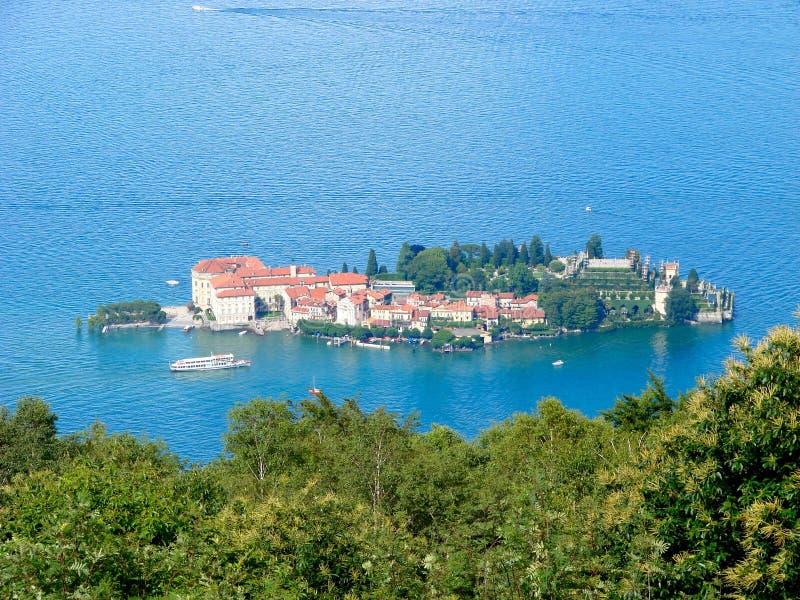 λίμνη της Ιταλίας isola bella maggiore στοκ φωτογραφία με δικαίωμα ελεύθερης χρήσης