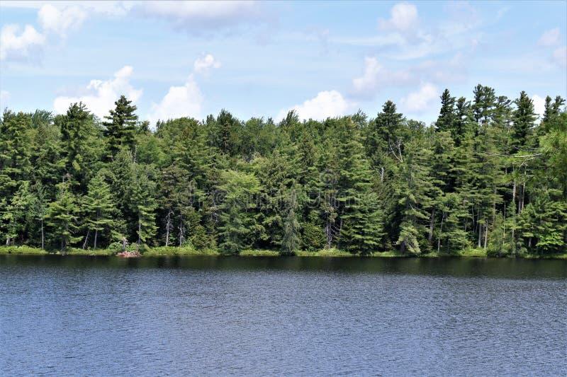 Λίμνη του Leonard, Colton, κομητεία του ST Lawrence, Νέα Υόρκη, Ηνωμένες Πολιτείες Νέα Υόρκη ΗΠΑ o στοκ εικόνα με δικαίωμα ελεύθερης χρήσης