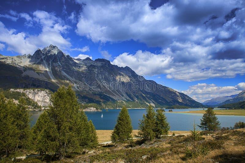 Λίμνη του ST Moritz στοκ φωτογραφία με δικαίωμα ελεύθερης χρήσης