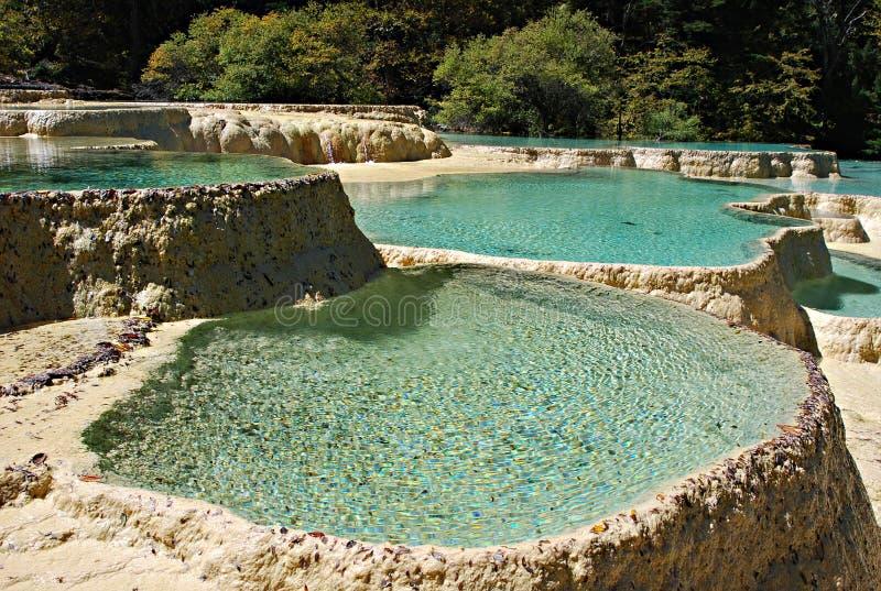 λίμνη χρώματος στοκ φωτογραφία με δικαίωμα ελεύθερης χρήσης