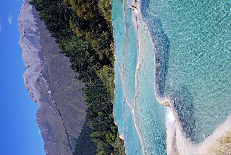 λίμνη χρώματος στοκ εικόνες