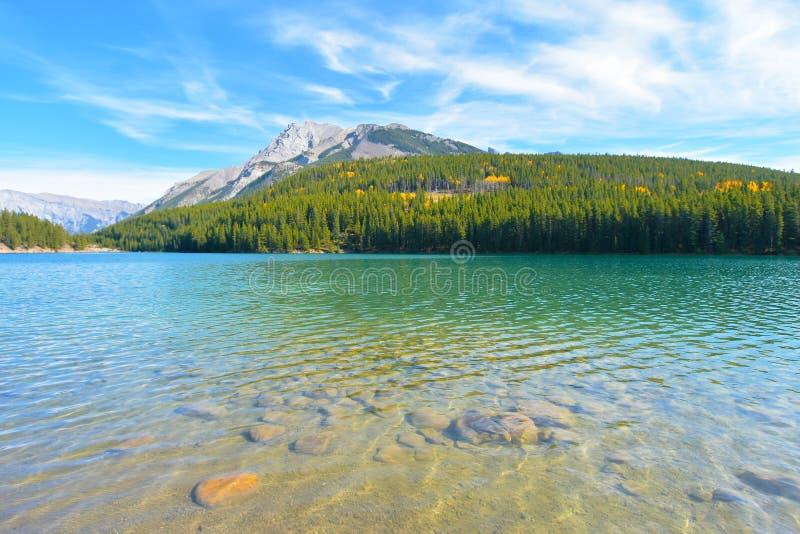 Λίμνη δύο γρύλων στοκ εικόνες με δικαίωμα ελεύθερης χρήσης