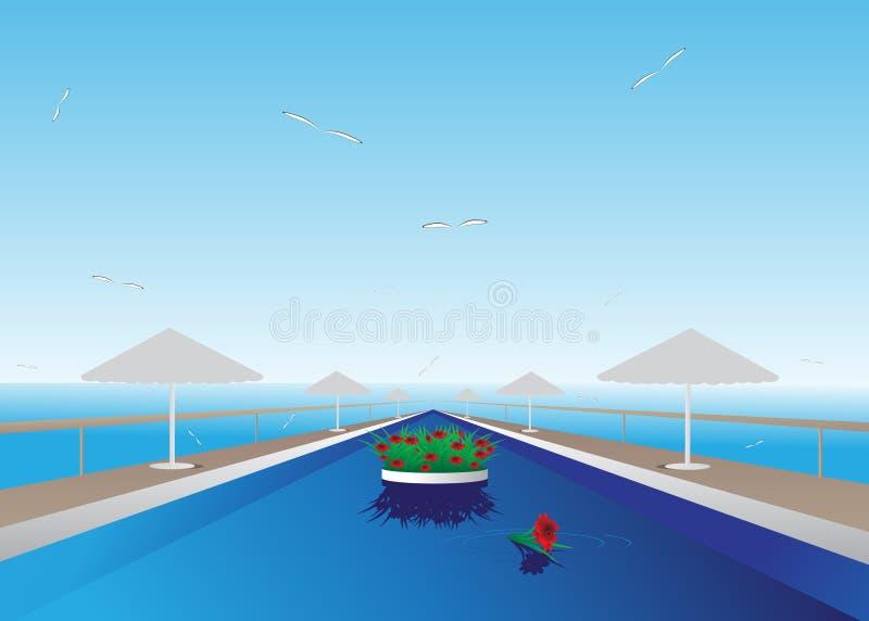 Λίμνη. απεικόνιση αποθεμάτων