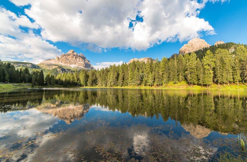 Λίμνη Antorno στοκ εικόνες
