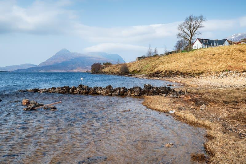 Λίμνη Assynt στοκ εικόνες με δικαίωμα ελεύθερης χρήσης