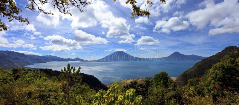 Λίμνη Atitlan στη Γουατεμάλα στοκ εικόνες με δικαίωμα ελεύθερης χρήσης