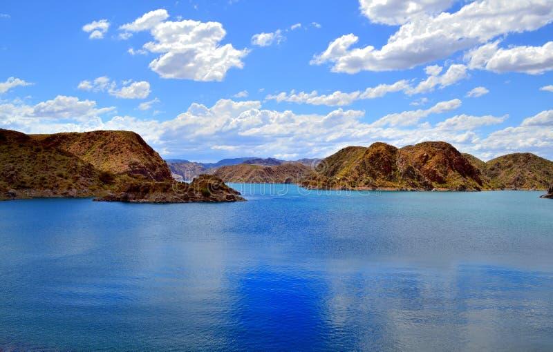 Λίμνη Atuhel το καλοκαίρι στοκ φωτογραφίες