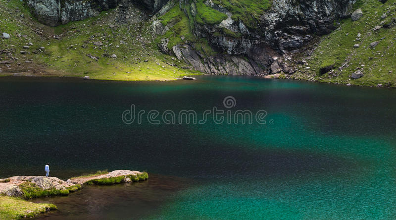 Λίμνη Balea στοκ εικόνα