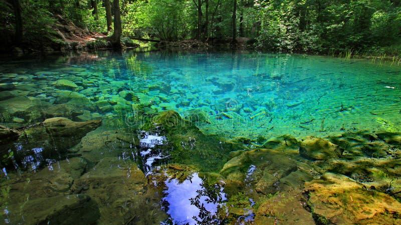 Λίμνη Bei Ochiul - Ρουμανία στοκ εικόνα