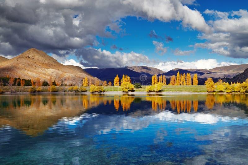 Λίμνη Benmore, Νέα Ζηλανδία στοκ φωτογραφία με δικαίωμα ελεύθερης χρήσης